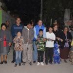 Entregan electrificaciones en El Marfil y San José de González