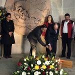 Encabeza IEEG renovación de Fuego Simbólico Alhóndiga de Granaditas