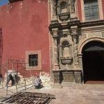 Con inversión de 5 mdp inician los trabajos de remodelación del Templo de El Hospitalito