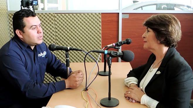 Photo of Diputada Irma Leticia González, entrevista (Notus Política)