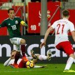México derrota a Polonia 0-1