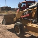 Continúan trabajos de rehabilitación de la Calle Manuel Doblado en su 1ra. Etapa
