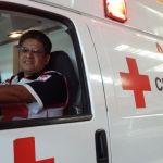 Para Fernando socorrista de la Cruz Roja, la noche del 24 de diciembre su misión es con la sociedad