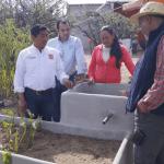 Entrega Instituto de Ecología ecotecnias en ANP Peña Alta