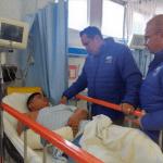 Secretario de salud visita a heridos víctimas de accidente en la carretera San Felipe – Silao