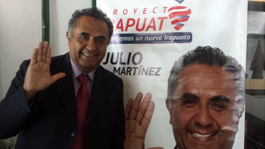 """Photo of Presenta Julio Martínez su """"amor por Irapuato"""", aspirante independiente a la alcaldía"""