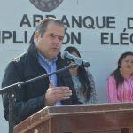 Inician electrificaciones en Puerta de Palo Dulce y Florida de Gómez