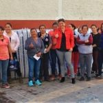 Benefician a familias vulnerables con entrega de colchones