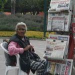 María Santos y sus 40 años como vocera de periódico