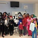 Reciben pacientes con mal de mariposa una visita inesperada en el Hospital Pediátrico de León