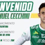 León oficializa contratación de seis meses de argentino Emanuel Cecchini