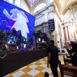 Se incorporan al circuito navideño 5 nacimientos instalados en templos, plaza del comercio y dirección de educación