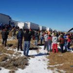 Nieve provoca filas de carros de 60 km entre Coahuila y NL