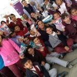 Entregan 6,800 juguetes en  primarias y preescolares de Cuerámaro