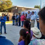 Inauguran obras en Tupátaro