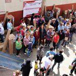 Familias neopoblanas se benefician con calentadores solares