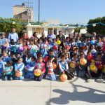 Niños y niñas de Primaria Justo Sierra recibieron juguetes