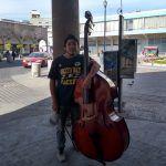 """""""Euforia y gratificación del público"""" motivación de Isaac Ricardo, músico local"""