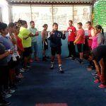 Inicia programa de boxeo con 15 jóvenes de diferentes colonias