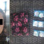 Detienen en Pénjamo a mujer con drogas
