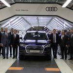 Audi México produce 158 mil 550 automóviles Q5 durante 2017