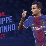 Barcelona confirma el fichaje de Phillipe Coutinho