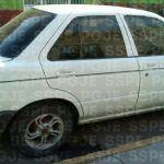 Aseguran en Cuerámaro vehículo con reporte de robo