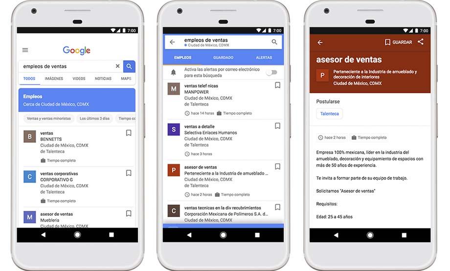 Photo of Google lanza en México servicio para que encuentres tu próximo trabajo