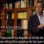 """Renuncia Javier Lozano al PAN y llama a Ricardo Anaya """"joven dictador"""""""