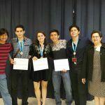 Cuatro medallas para la UG en la XXVII Olimpiada Nacional de Biología