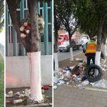Multas de hasta 2 mil 300 pesos a quien deje basura en camellones