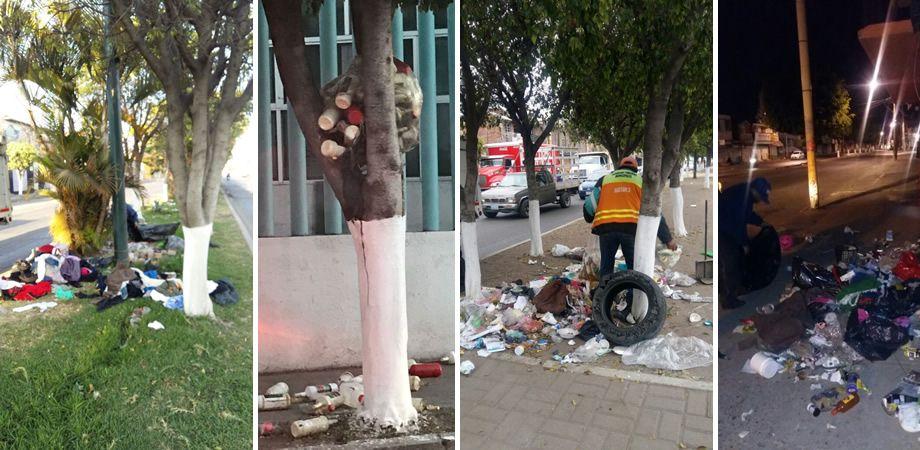 Photo of Multas de hasta 2 mil 300 pesos a quien deje basura en camellones