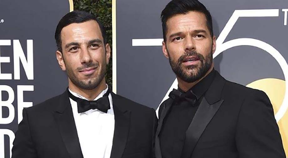 """Photo of """"Ya no puedo llamarlo novio, soy su esposo y él es mi hombre"""": Ricky Martin"""