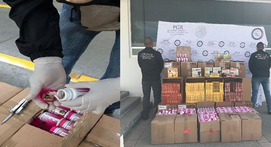 Photo of PGR Guanajuato asegura más de 96 mil cápsulas sin control sanitario, ni permisos de importación