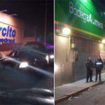 Se registran saqueos a supermercados en Ecatepec y Veracruz; hay 13 detenidos