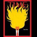 """Trump en llamas, la nueva portada de """"TIME"""""""