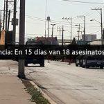 Ola de violencia: En 15 días van 18 asesinatos en Irapuato
