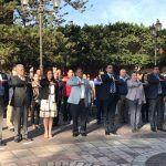 En el 101 Aniversario de la Constitución Mexicana, autoridades realizan acto cívico conmemorativo