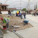 Cruces de Rojas tendrá su primer calle pavimentada