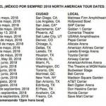 """Luis Miguel llegará con su gira """"México por siempre"""" a USA y CANADÁ"""