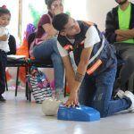 Capacitan en primeros auxilios a docentes preescolares