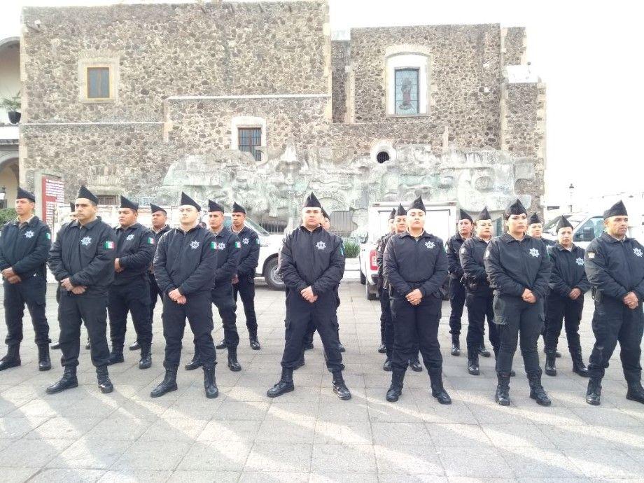 Photo of Fortalecen con equipamiento a elementos de la Secretaría Ciudadana