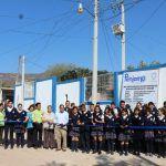 Barda perimetral y pórtico de acceso en SABES Corralejo de Hidalgo