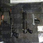 Capturan en Abasolo a hombre en posesión de 300 dosis de diversas drogas, tres armas de fuego y varios cartuchos útiles