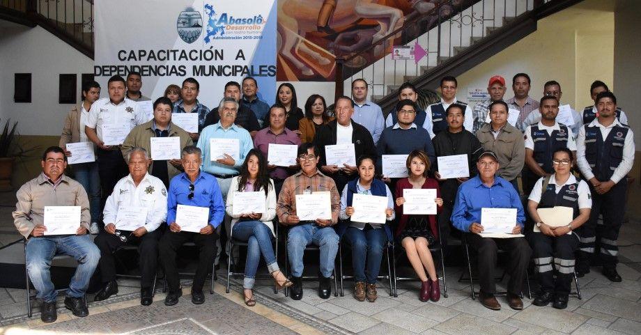 Photo of Protección Civil capacita a dependencias municipales