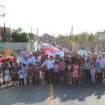 Inauguran calle de acceso a la comunidad Buenavista de Cortés