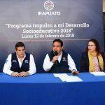 """Presentan programa """"Impulso a mi Desarrollo Socioeducativo 2018"""""""