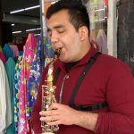 """""""La mujer es la más grande inspiración que puede haber"""": Gabriel Castillo, saxofonista local"""