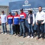 Inaugura el alcalde Ricardo Ortiz la planta de tratamiento de aguas residuales en la San Roque