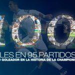 Con un mismo equipo y en Champions, CR7 se vuelve histórico con 100 goles